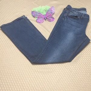 NY&C curvy bootcut jeans size 12